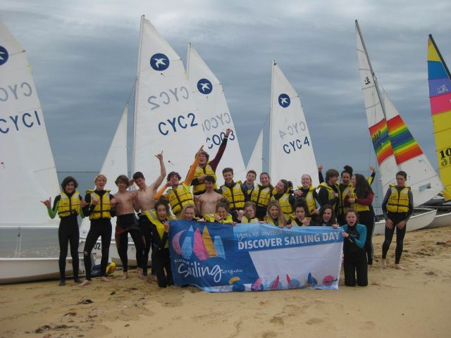 Cowes Discover Sailing Day